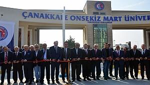 ÇOMÜ'nün Ana Giriş Kapısı Törenle Açıldı