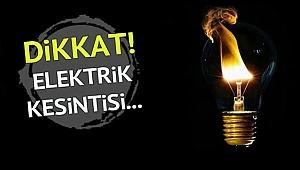 Esenler Mahallesi'nde elektrik kesilecek