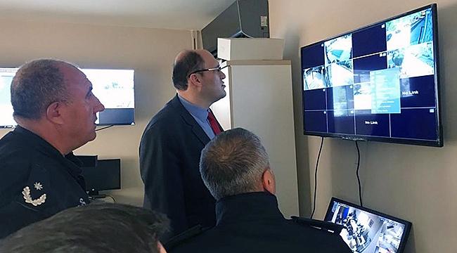 Gökçeada'da tüm okulların çevresine güvenlik kamerası