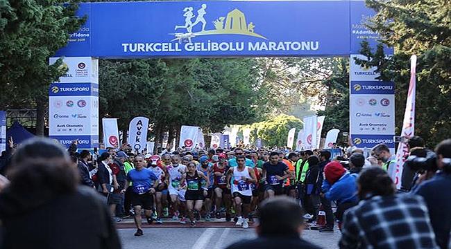 Turkcell Gelibolu Maratonu 'Adımlar Fidana' Temasıyla Koşuldu