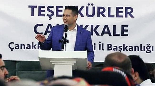 Ak Parti Çanakkale İl Başkanı Yıldız istifa etti!