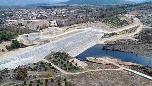 Bayramiç Çavuşlu Göletinde Su Tutuldu
