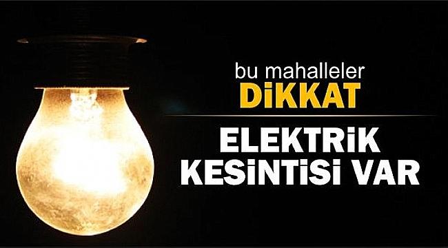 Çanakkale'de 7-8-9 Kasım'de kesinti var!