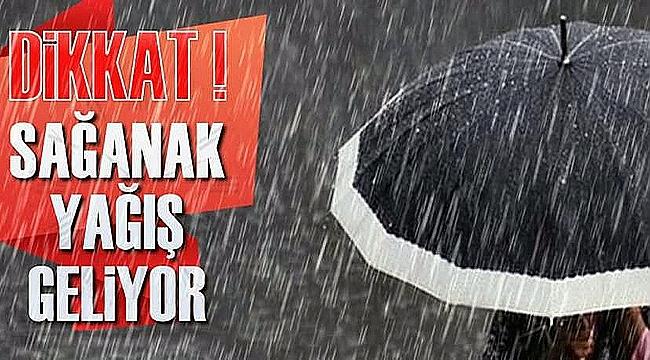 Çanakkale'ye 3 gün yağmur!