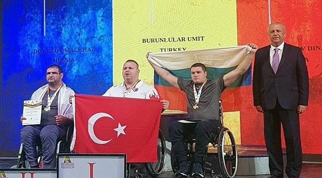 Çanakkaleli Milli Sporcu Ümit Burunlular Dünya Şampiyonu Oldu