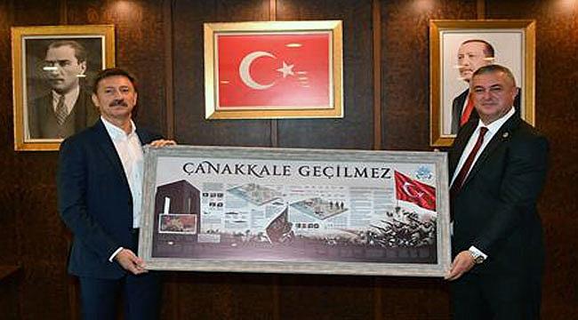 Geyikli Belediyesi ile Bahçelievler Belediyesi 'Kardeşlik Protokolü' imzalandı