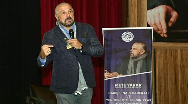 Mete Yarar Biga'da Barış Pınarı Harekatı'nı Anlattı