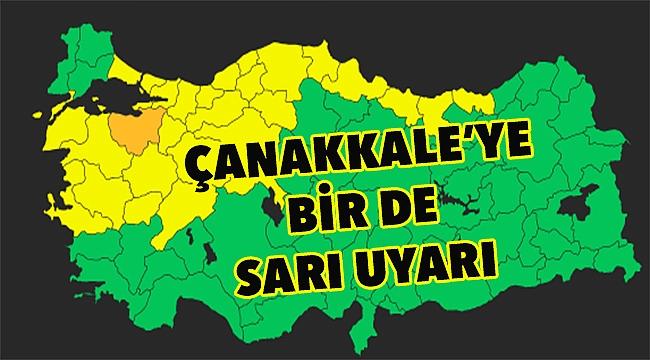 Meteorolojiden Çanakkale'ye ciddi uyarı!