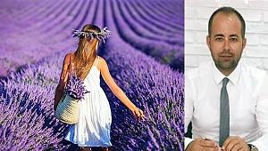Türkiye'nin en büyük lavanta bahçesi Çanakkale'de olacak