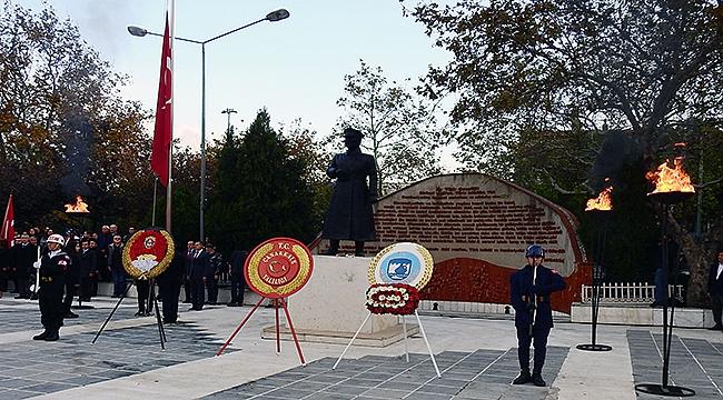 Ulu Önder Atatürk Çanakkale'de törenle anılacak