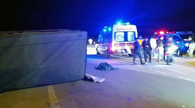 Çanakkale'de kaza 32 yaralı!