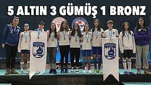 Türkiye Şampiyonasından 9 Madalya İle Döndüler