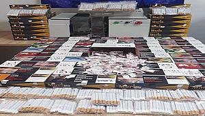 17 bin 40 doldurulmuş sigaraya el kondu!