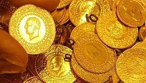 Çanakkale'de çeyrek altın 510 TL oldu