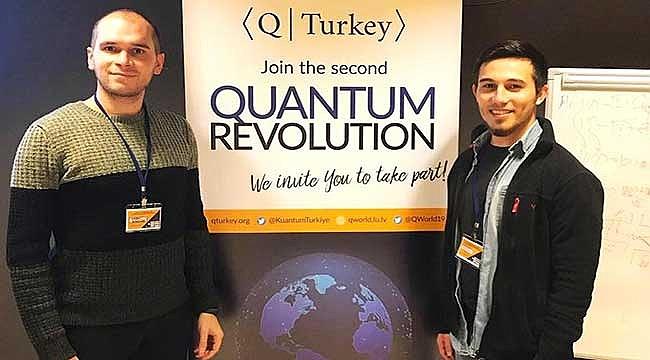 'Kuantum Turkey' yarışmasından birincilikle döndüler