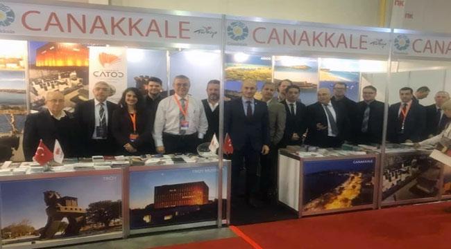Çanakkale, Sofya Turizm Fuarına Damga Vurdu
