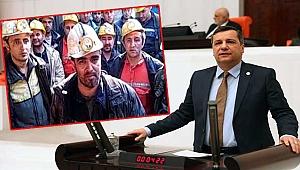 Milletvekili Ceylan maden işçilerine destek çıktı!