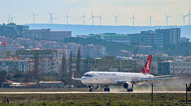 Çanakkale-İstanbul uçak seferleri durduruldu!