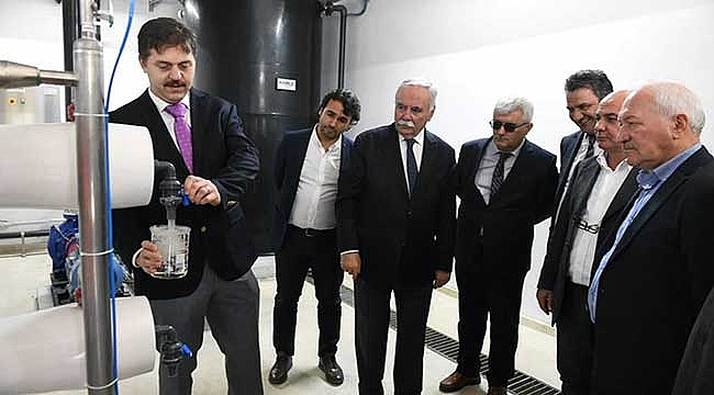 Çanakkale sızıntı suyu arıtma tesisi açıldı