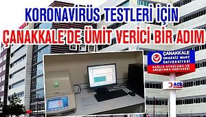 Covid-19 Testleri İçin Ümit Verici Bir Adım