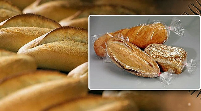 Ekmek ambalajlı satılacak!