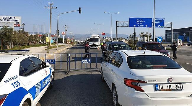 Çanakkale'nin komşu ilçesine giriş çıkışlar yasaklandı!