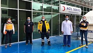 Çanakkale Sağlık Müdürü, ÇOMÜ Pandemi Hastanesi'nde