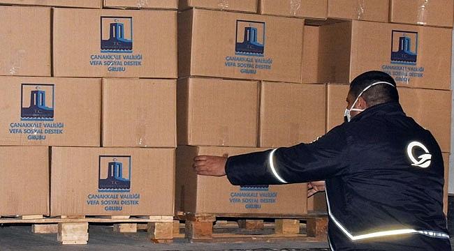 Gestaş'tan 2 bin gıda kolisi