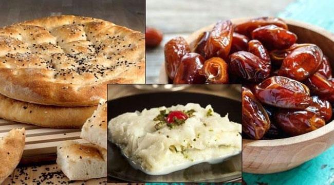 Ramazan Ayı'nda beslenmeye dikkat!