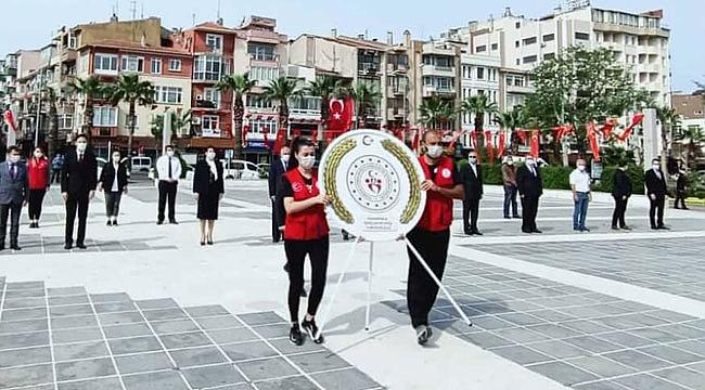 Çanakkale'de 19 Mayıs'a sosyal mesafeli kutlama
