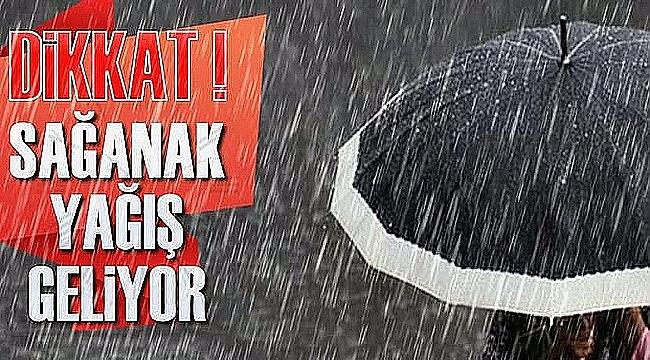 Çanakkale'de yağmur bekleniyor!