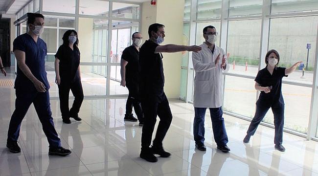 ÇOMÜ Hastanesi'nde normalleşme hazırlıkları
