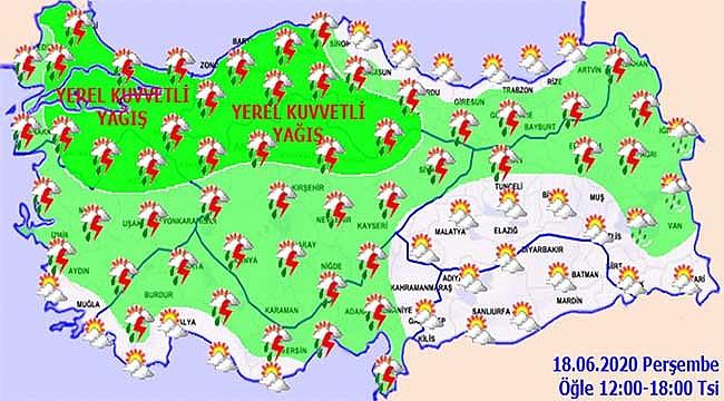Edirne ve Çanakkale hariç...