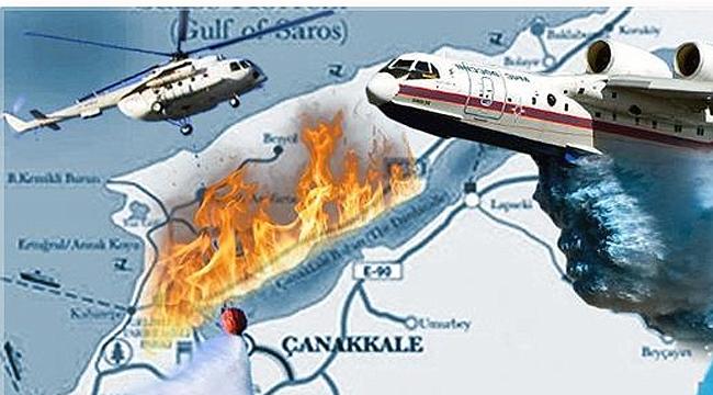 Bakan Pakdemirli'den yangınla ilgili açıklama