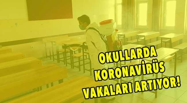 Çanakkale'de yeni vakalar görülen okullar var