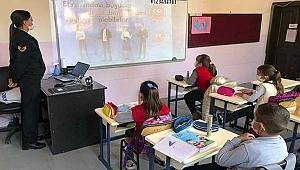 İlkokullarda 'Kişisel Güvenlik ve Covid-19 Tedbirleri Eğitimi'