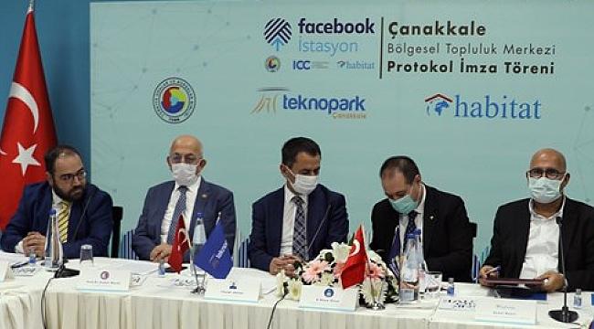 Çanakkale'ye Facebook İstasyonu!