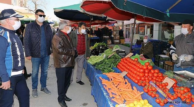 Halk pazarı 14 gün kurulmayacak!