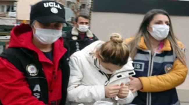 Yeni doğan bebeğini çöpe atarak ölüme terk eden kadın tutuklandı