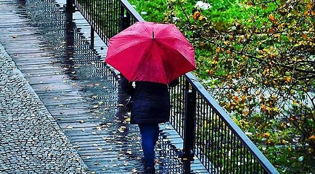 Çanakkale'de kuvvetli yağışlara dikkat!