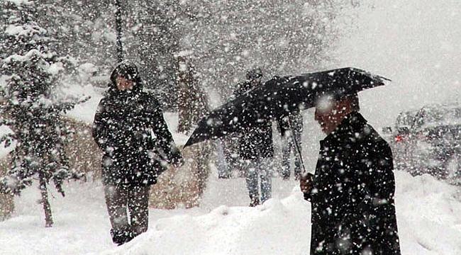Çanakkale'de yoğun kar bekleniyor!