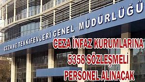 5358 SÖZLEŞMELİ PERSONEL ALINACAK
