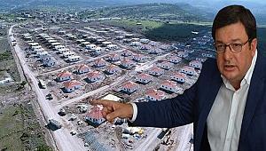 Ayvacık'taki deprem konutlarını sordu!