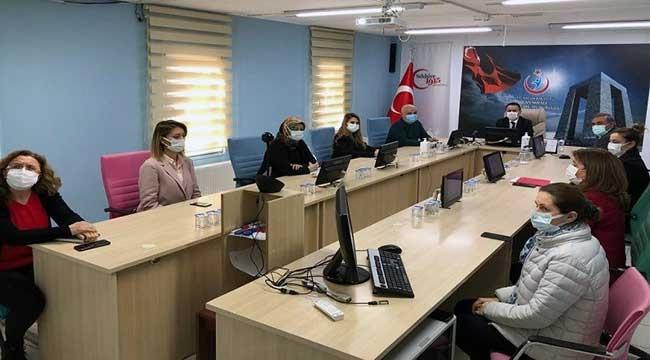 Çanakkale'de koronavirüse karşı alınan tedbirler değerlendirildi