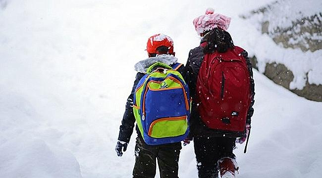 Yenice'de kar tatili ve idari izin!