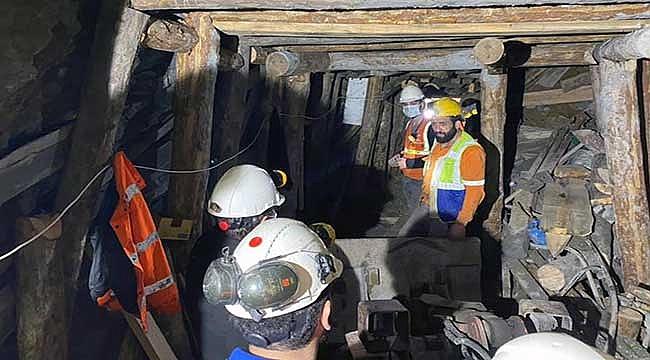 Maden işçisinin cansız bedenine ulaşıldı!