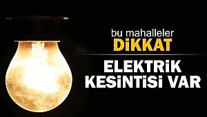 Çanakkale'de  29-30 Nisan'da elektrik kesintileri!