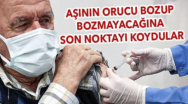 Din İşleri Yüksek Kurulu'ndan aşı açıklaması!