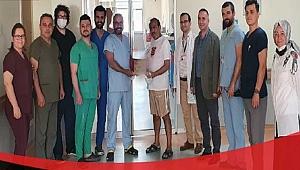 ÇOMÜ Hastanesinde 100'ncü böbrek nakli gerçekleştirdi