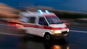 Baba-kızı trafik kazası ayırdı